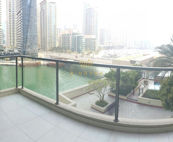Marina-Pool Views|Vacant 2BR Apt|Marina Quays