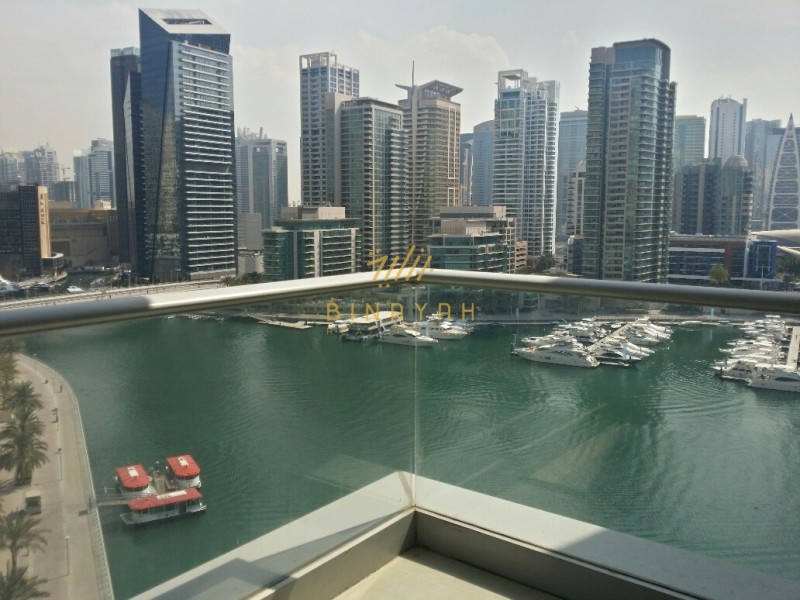 2 Bedroom Apartment For Rent in Beauport Tower, Dubai Marina