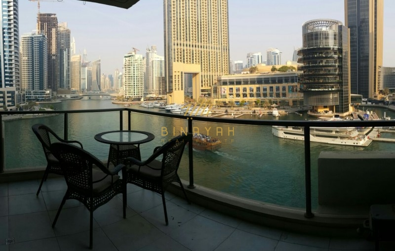 3 Bedroom Apartment Available For Rent In Marina Quays East, Dubai Marina