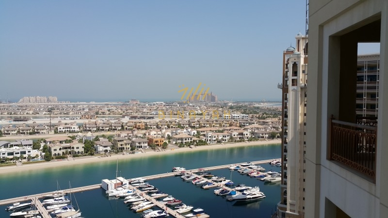 Large 3 Bedroom in Marina Residence, High Floor, Palm Jumeirah
