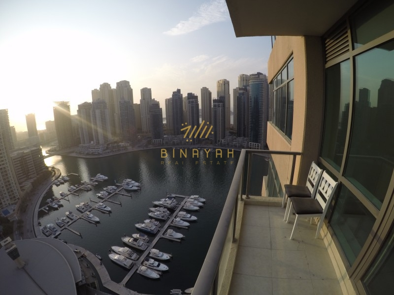 Sunfilled Marina Views | 2BR+Study Vacant Apt