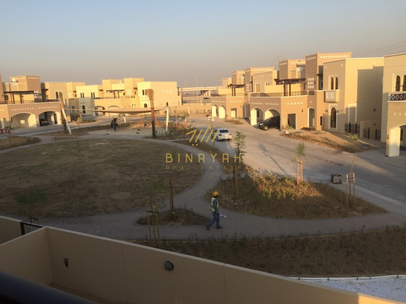 Park Facing 4 Bedroom Townhouse in Mudon