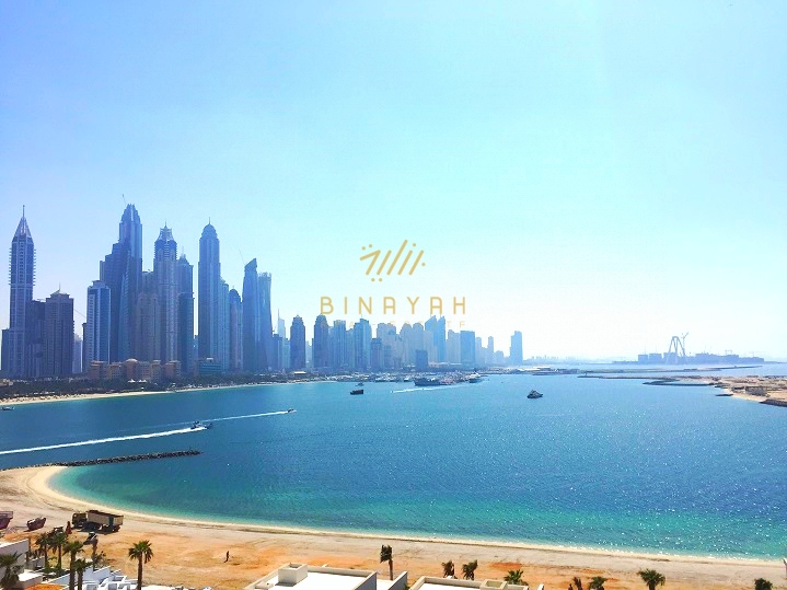 Sea view 2 bedroom in Viceroy Palm Jumeirah