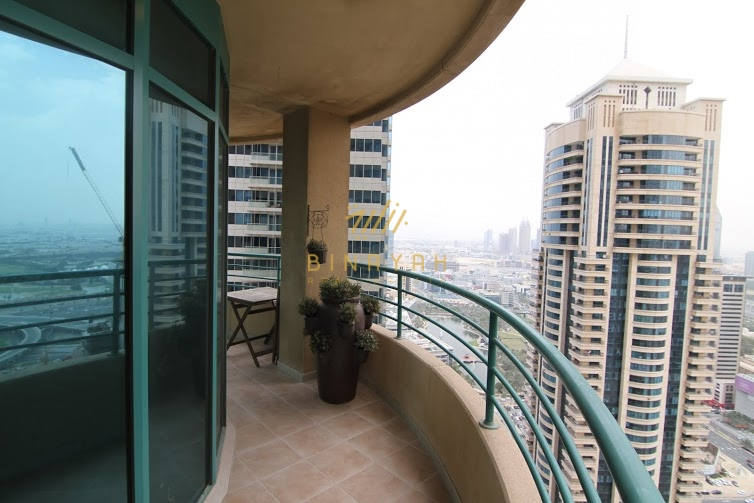 Furnished 2BR Sea View in Marina Crown
