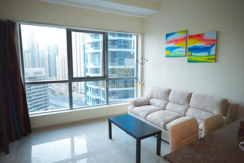1BR Marina Views Furnished Bay Central