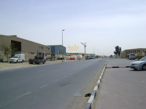Large Open Yard with Warehouse at Al Quoz