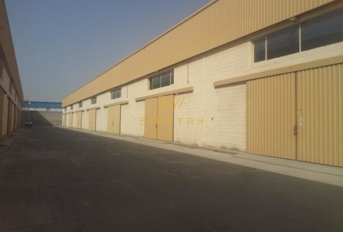 Large Open Yard with Built in Warehouse at Al Quoz