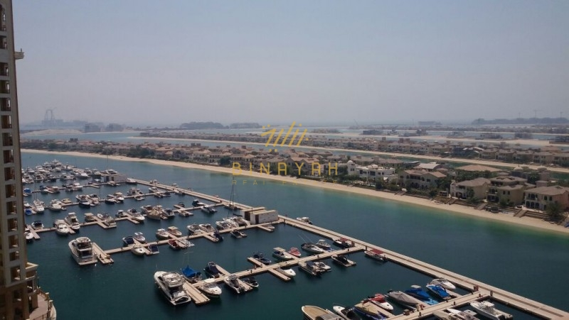 3 Bedroom, High Floor, Atlantis view,Marina Residence