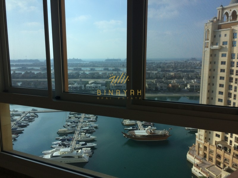 3 Bedroom in High Floor Marina Residence, Palm Jumeirah