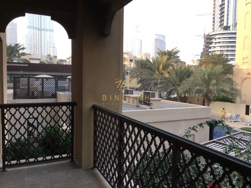3 Bedroom|with Study & Store| Burj View