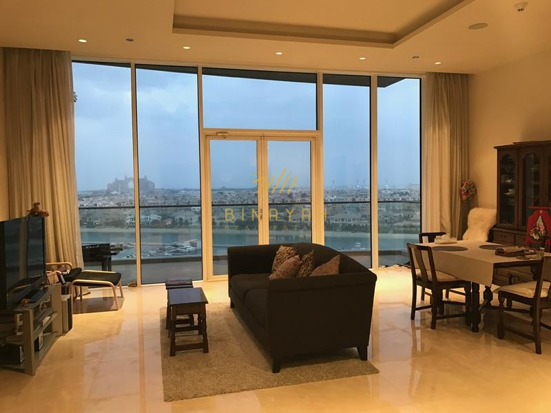 2 Bedroom in High Flr Atlantic View Palm