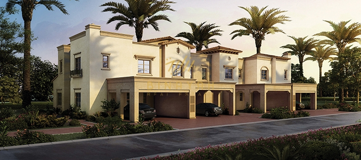 Mira Oasis Villa 3 Bedroom Single Row Type J