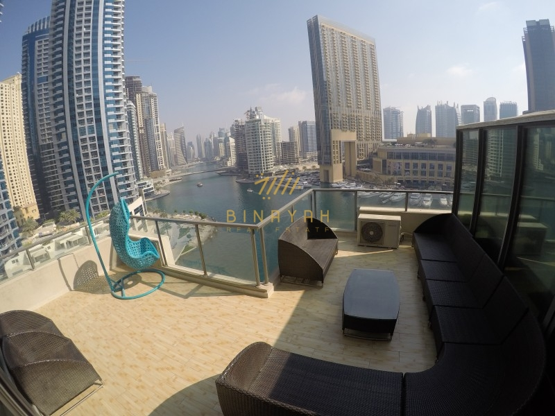 Spectacular Views | Upgraded 3BR+M Duplex Penthouse
