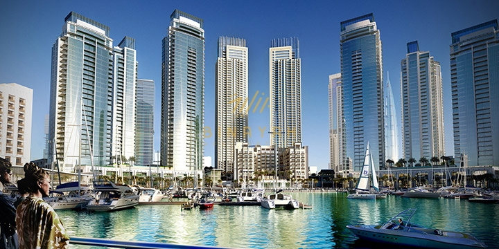 2 Bedroom for Sale - Harbour Views 1 Dubai