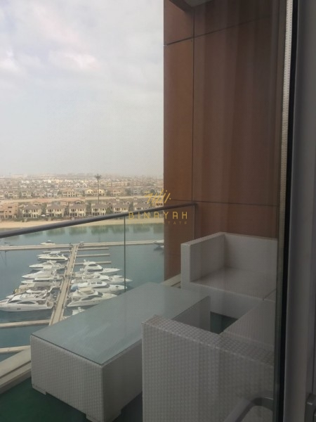 Furnished 3 Bedroom Tiara Atlnatis view Palm