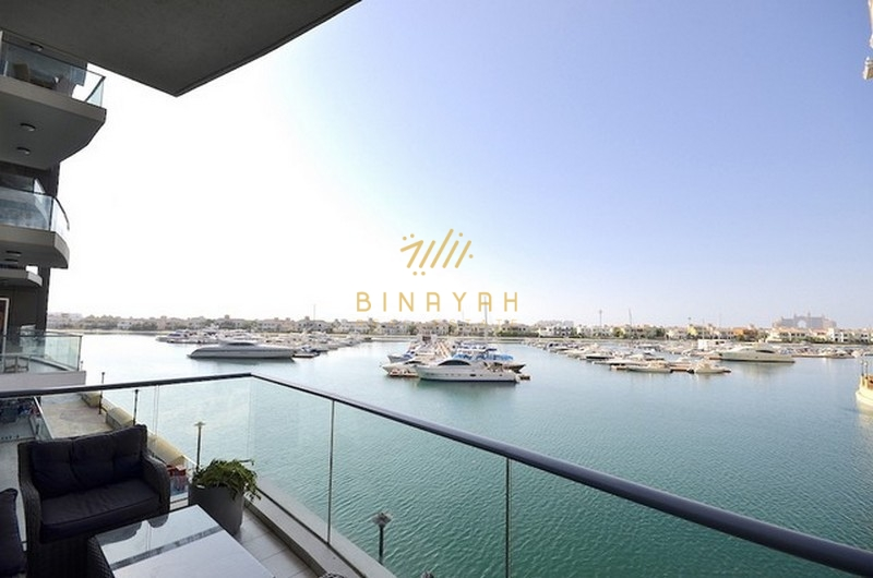 Furnished 2 Bedroom Oceana  Palm jumeirah