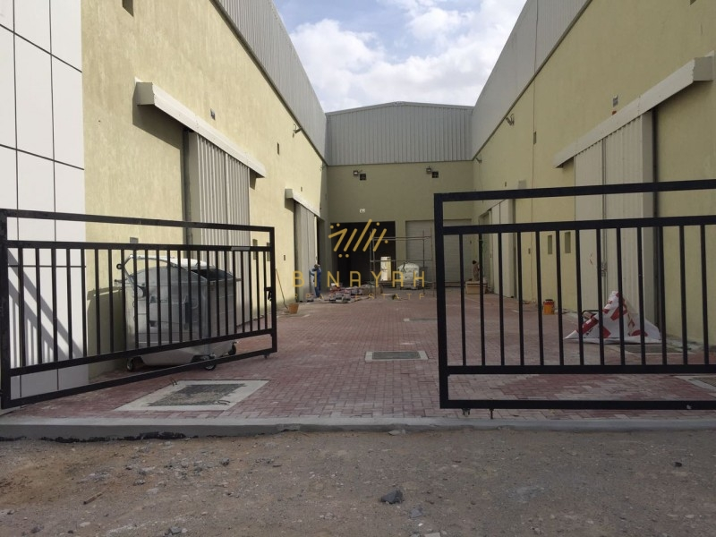 Brand New warehouse with built in Office at Al Quoz 3