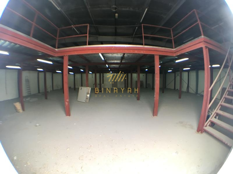 New Warehouse with Mezzanine at Al Quoz 3