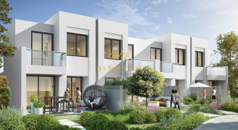 3 and 4 Bedroom in Bahya Villa Akoya Qxygen for 1M