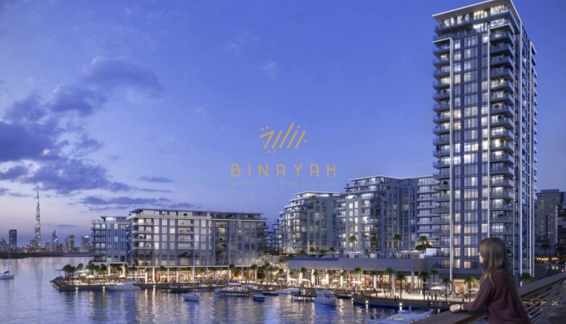 3 BR | The Cove | Dubai Creek Water Front