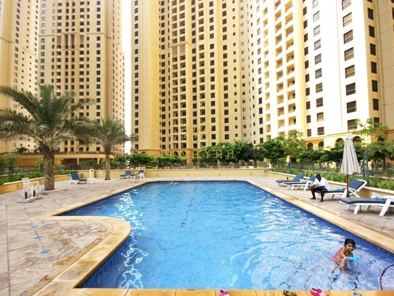 1 BR l Amazing full Sea View l Murjan 1
