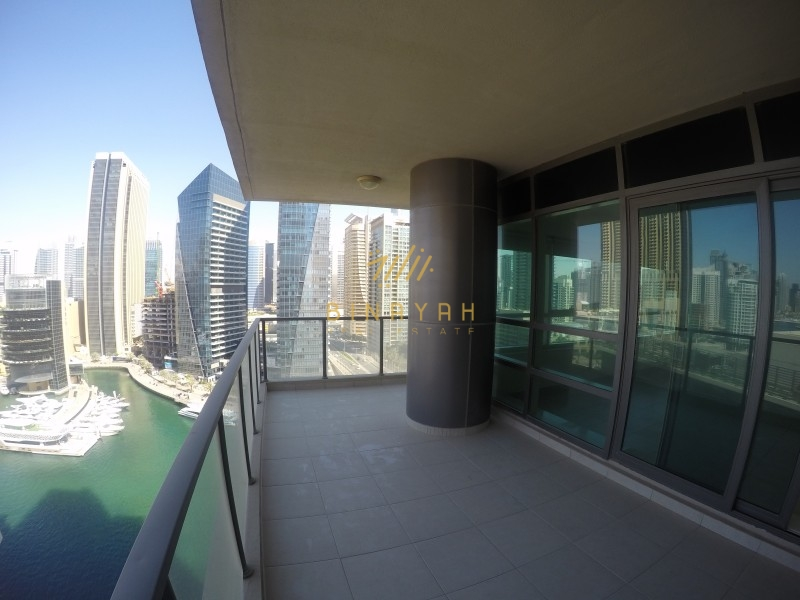 Available Full Marina View 2BR Large Apt