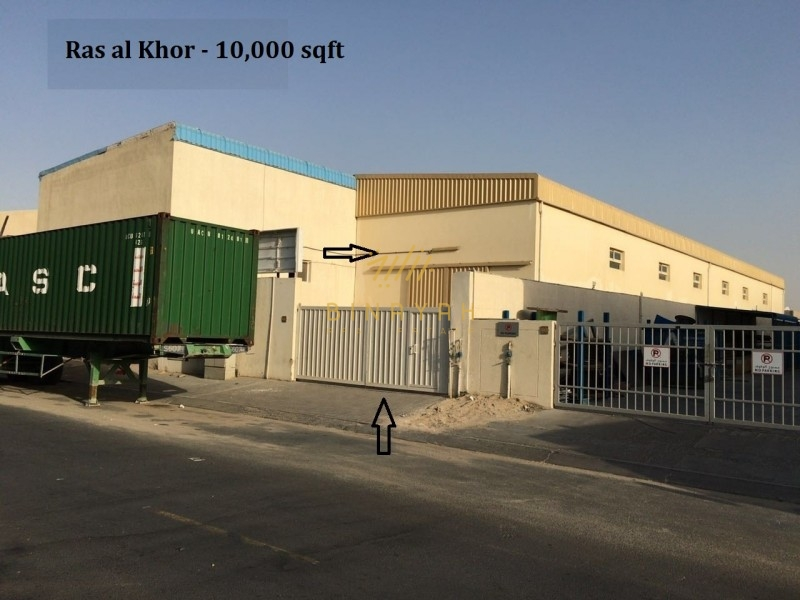 Ground with Mezzanine|Warehouse|Road View