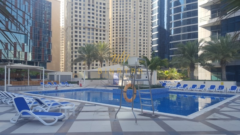 2 BR with Kitchen Appliances | Pool View