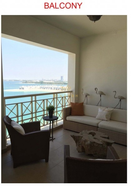 2 BR Maid's|Panoramic Sea View|High Floor