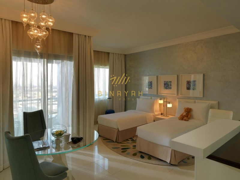 3 BR Serviced APT in The Signature -135K