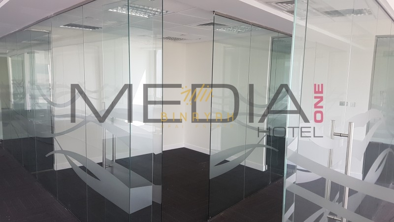 Fitted office in Media one Office Tower