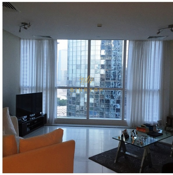 Spacious 3 BR | Furnished | Marina View