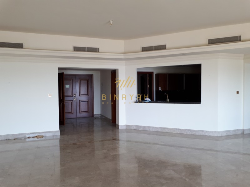 Massive 3 BR |Full Sea View |Unfurnished