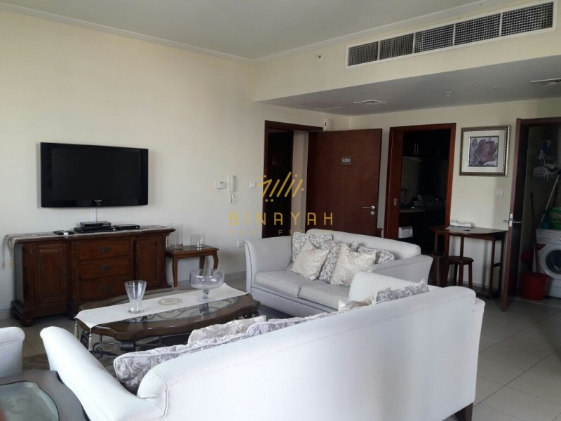Furnished| Spacious 1 BR | High Floor