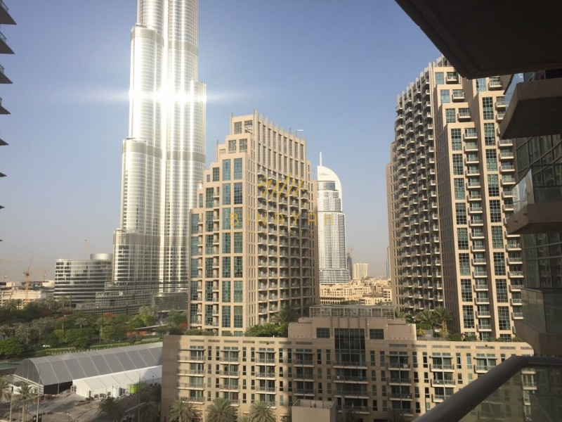 Spacious 1 BR with Burj Khalifa view