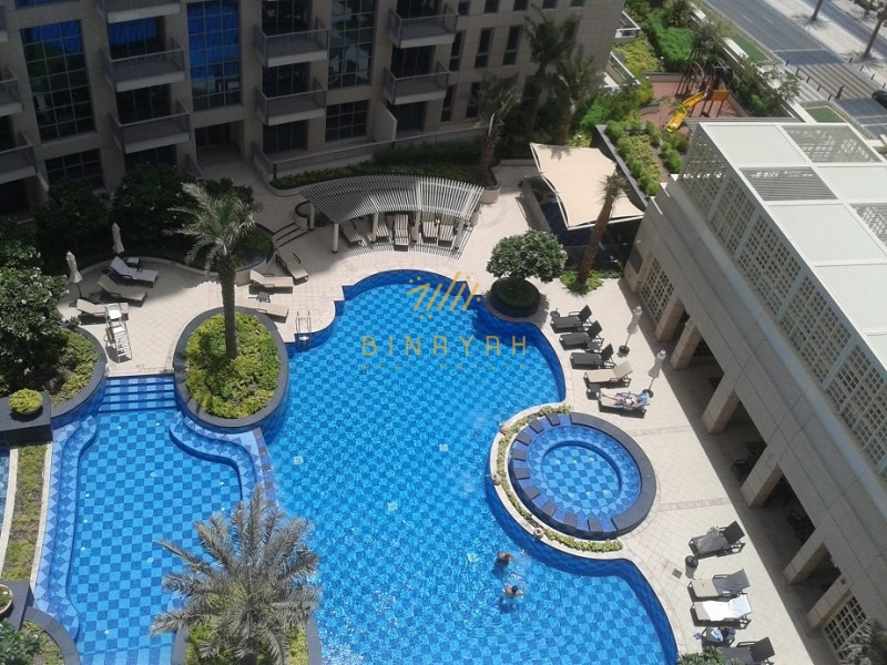 2 BR | Amazing Fountain View | Unfurnished