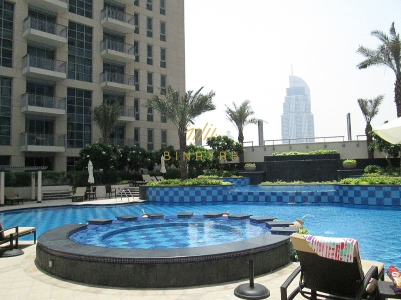 2 BR | Amazing Fountain View | 2 Bedroom