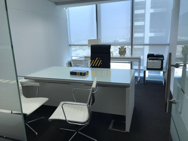 Fitted Partitioned Office|Indigo Icon Tower