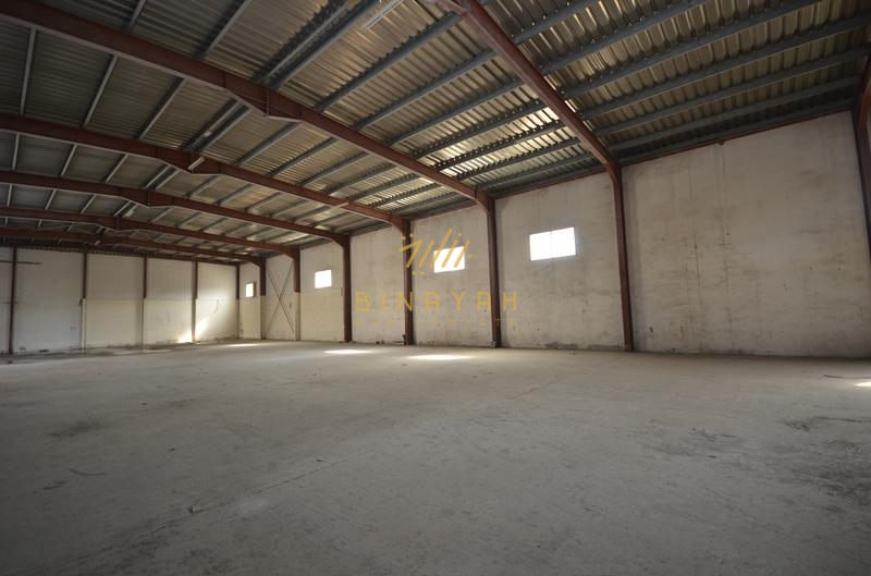 Spacious Warehouses|with shell and core|