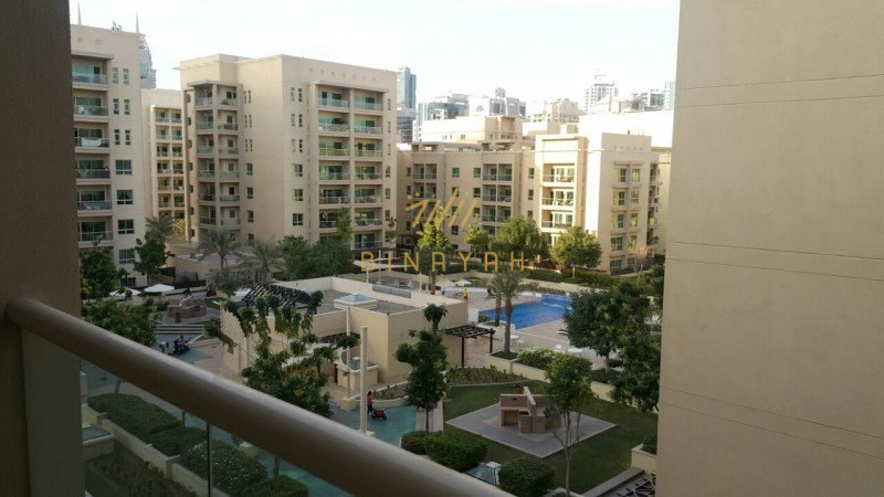 Big One Bedroom with Pool View for Rent