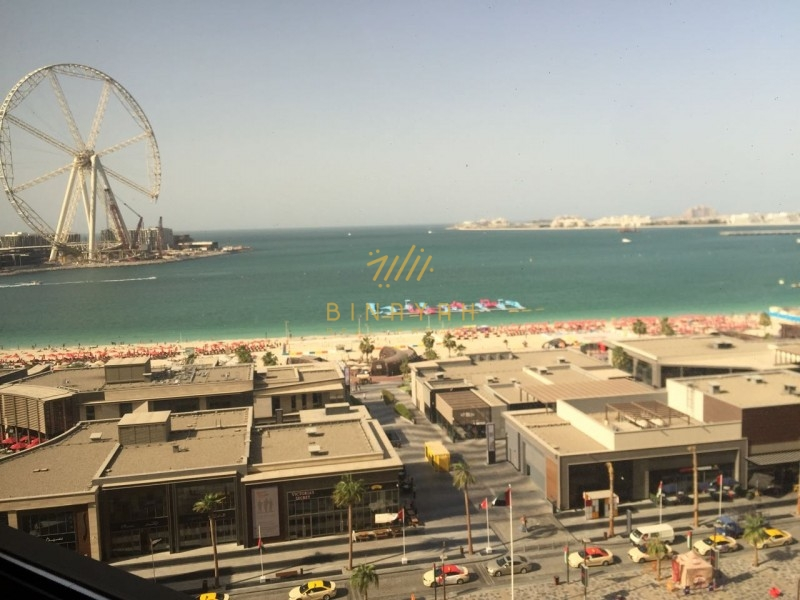 Rimal 6 |Full Sea View | 170 k Rent  JBR