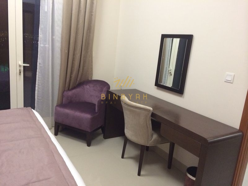 Luxury Fully Furnished 1BR 50K by 4 chqs