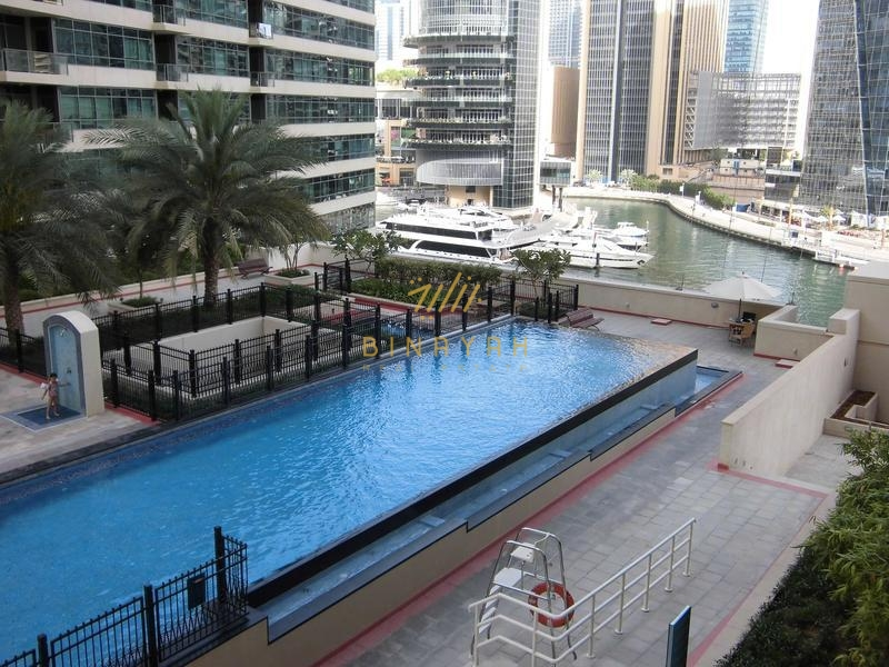 Studio for Sale with Partial marina view