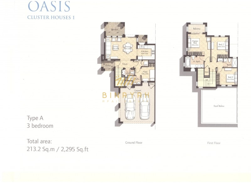 Mira Oasis -3 Bedroom Type A Park Facing