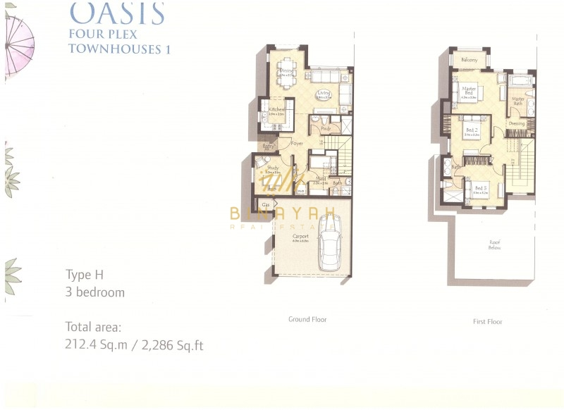 3 BR |  Type H Mira Oasis | for Sale