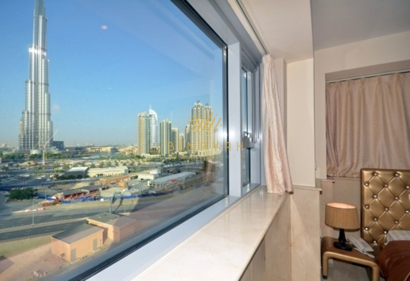 Fully Furnished 1 BR facing Burj Khalifa