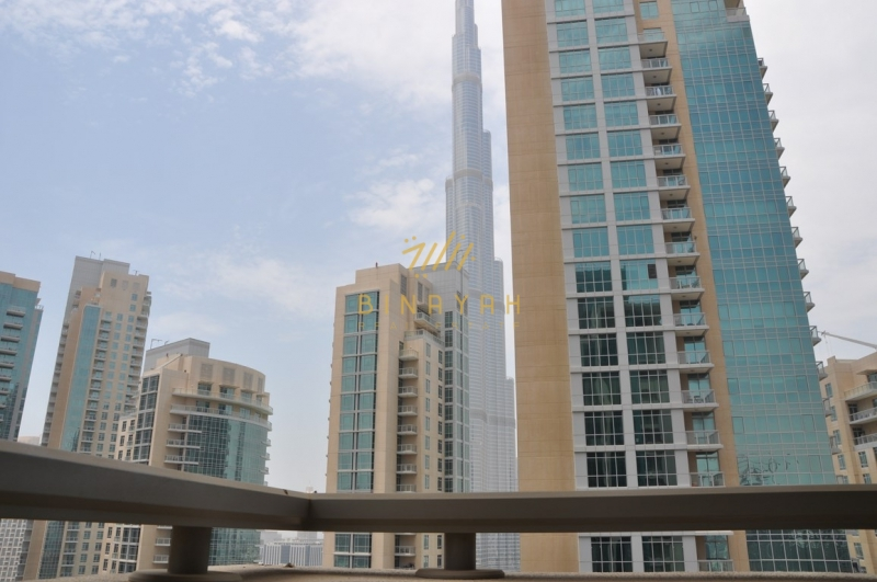 2 BR | Partial Burj View | Unfurnished