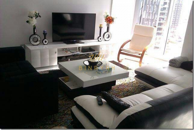 Immaculate  Furnished 1 BR full Sea View