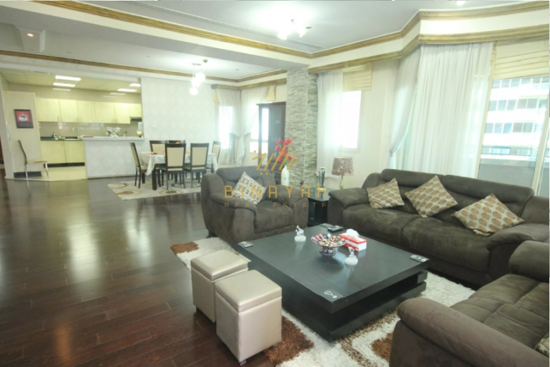 4 BR   Furnished   Vacant  Full Sea View