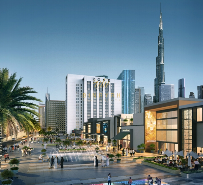 Rove Hotel by Emaar in City Walk